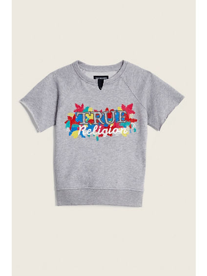RAW EDGE TODDLER/LITTLE KIDS PULLOVER