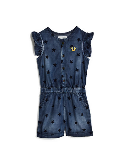 TODDLER/LITTLE KIDS STAR TR ROMPER
