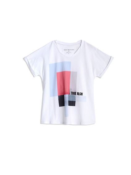 TODDLER/LITTLE KIDS SHADOW BOX TEE