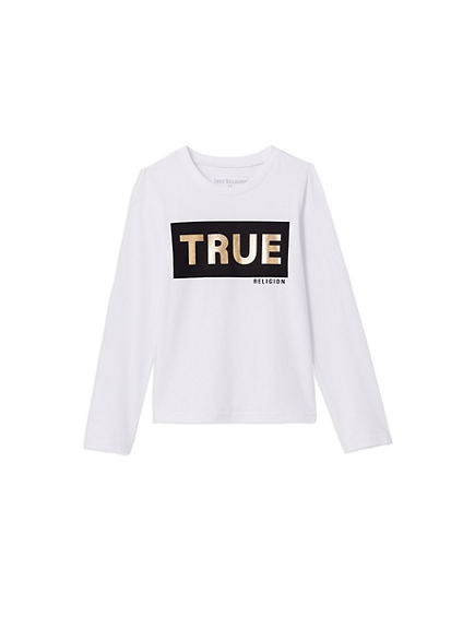 TRUE TODDLER/LITTLE KIDS TEE