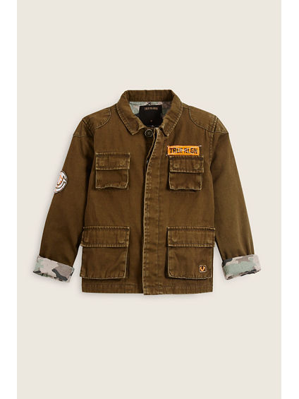 MILITARY TODDLER/LITTLE KIDS JACKET