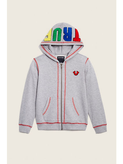 TODDLER/LITTLE KIDS POP TRUE HOODY