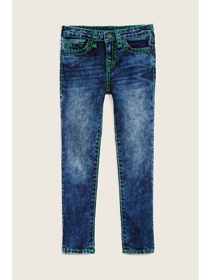 TODDLER/LITTLE KIDS ROCCO SUPER T JEAN