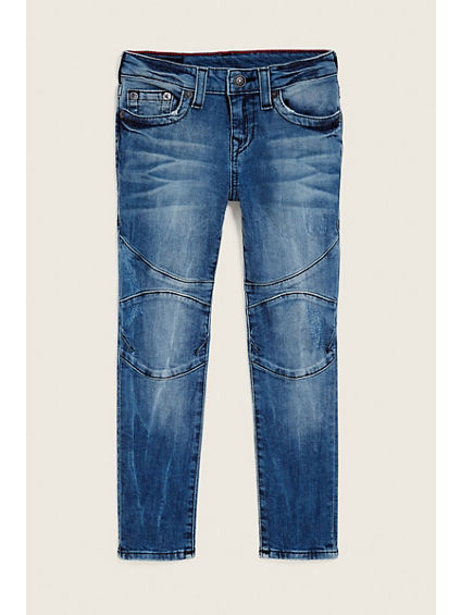 TODDLER/LITTLE KIDS ROCCO MOTO JEAN
