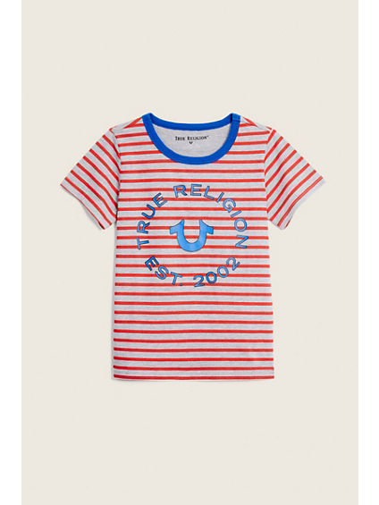TODDLER/LITTLE KIDS STRIPE TEE