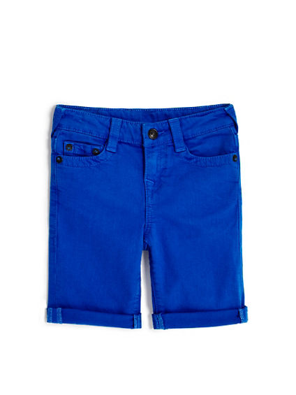 TODDLER/LITTLE KIDS ROLLED CUFF GENO SHORT