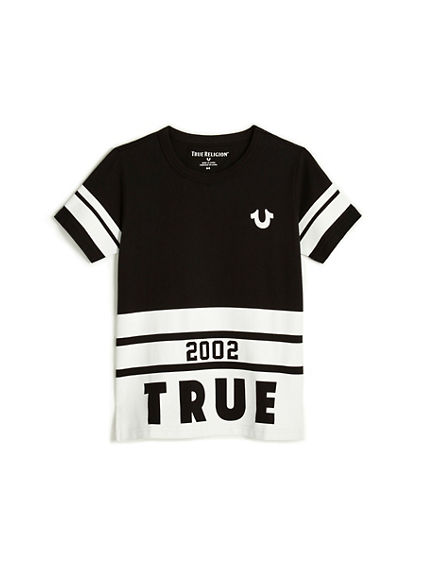 BRANDED LONG TODDLER/LITTLE KIDS TEE