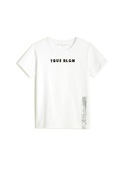 LOGO FOIL TODDLER/LITTLE KIDS TEE