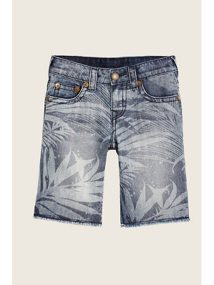 PALM TREE TODDLER/LITTLE KIDS SHORTS