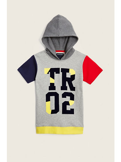 COLORBLOCK TODDLER/LITTLE KIDS HOODIE