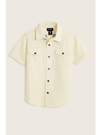 02 TR TODDLER/LITTLE KIDS WOVEN SHIRT