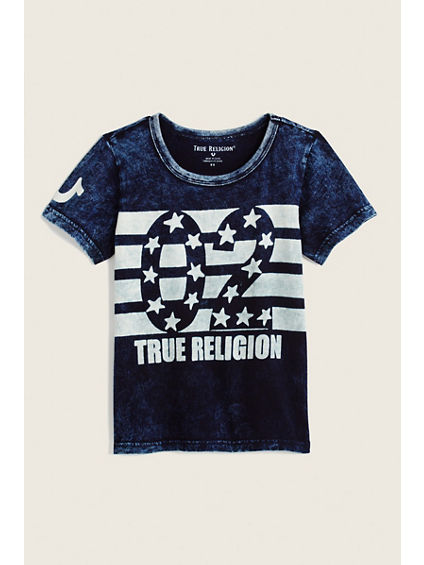 INDIGO TODDLER/LITTLE KIDS TEE