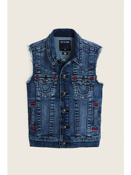 JIMMY DENIM TODDLER/KIDS VEST