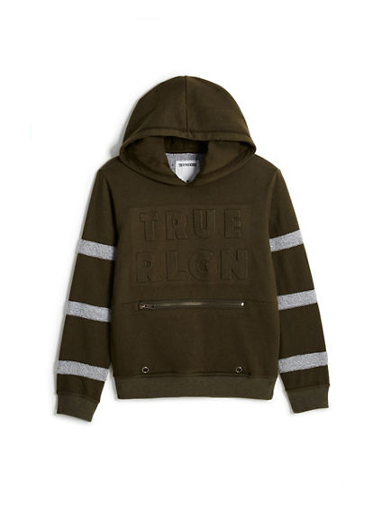 TODDLER/LITTLE KIDS EMBOSSED HOODIE