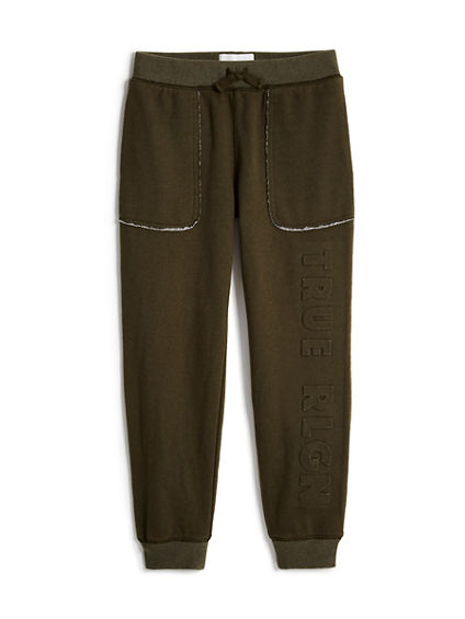 TODDLER/LITTLE KIDS EMBOSSED SWEATPANT