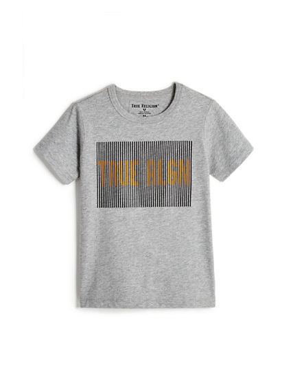 TODDLER/LITTLE KIDS TR LINES TEE
