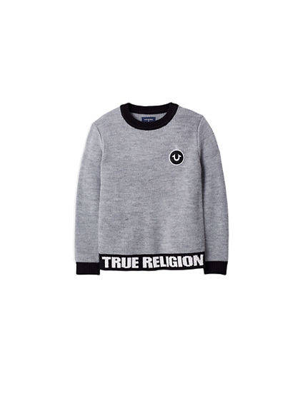 TR PULLOVER TODDLER/LITTLE KIDS SWEATER