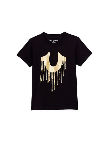 GOLD DRIP TODDLER/LITTLE KIDS TEE