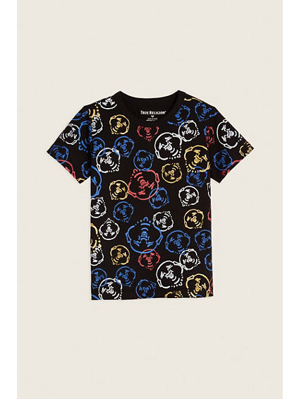 SCATTER BUDDHA TODDLER/LITTLE KIDS TEE