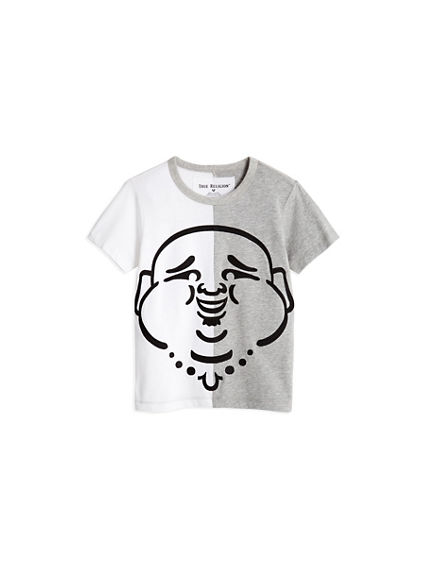 HALF BUDDHA TODDLER/LITTLE KIDS TEE