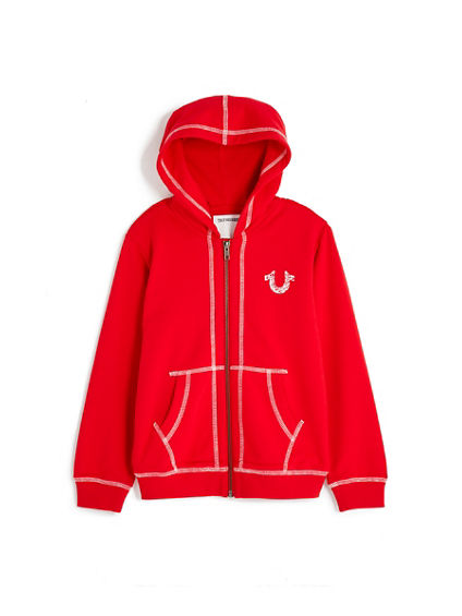 SHOE STRING TODDLER/LITTLE KIDS HOODIE