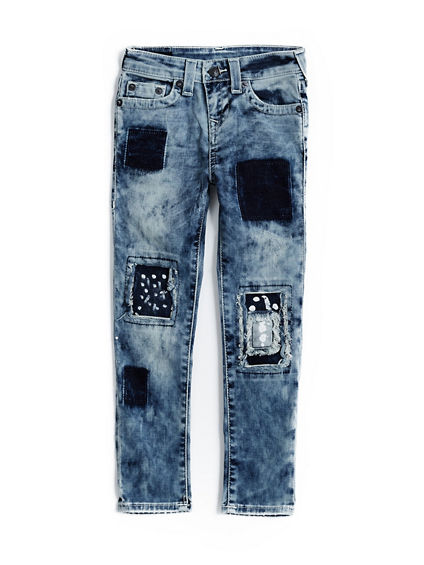 ROCCO PATCH TODDLER/KIDS JEAN