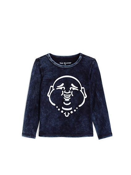 TODDLER/LITTLE KIDS  BUDDHA MINERAL LS TEE
