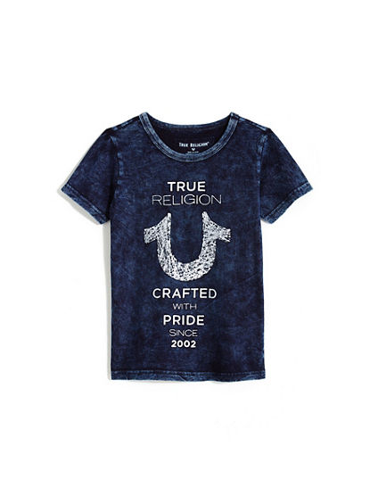 TODDLER/LITTLE KIDS SHOESTRING TEE