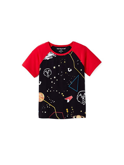 TODDLER/LITTLE KIDS SPACE TEE