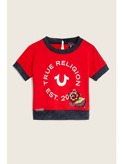 KIDS SHORT SLEEVE PULLOVER