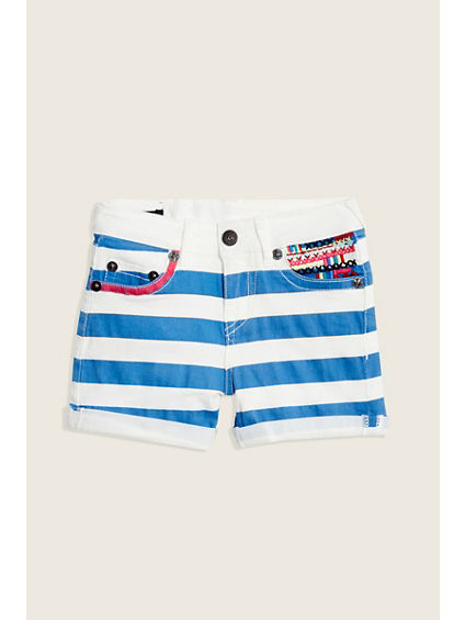AUDREY STRIPED SHORT