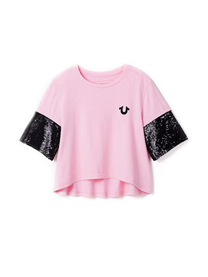 SEQUIN KIDS TEE