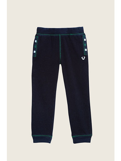 TERRY INDIGO KIDS SWEATPANT