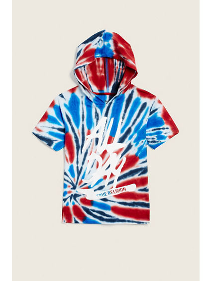KIDS ALL DAY HOODED TEE