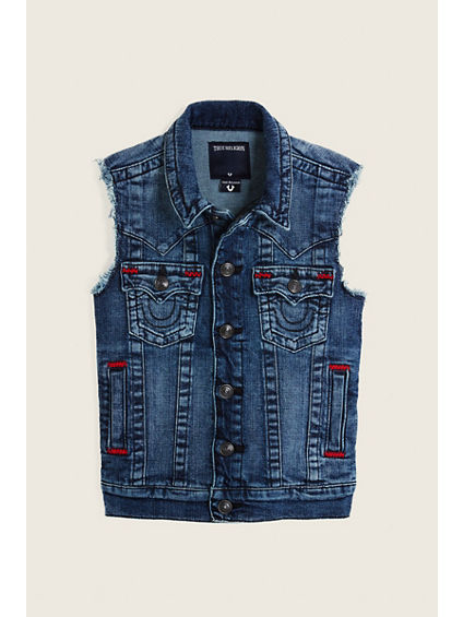 JIMMY DENIM KIDS VEST
