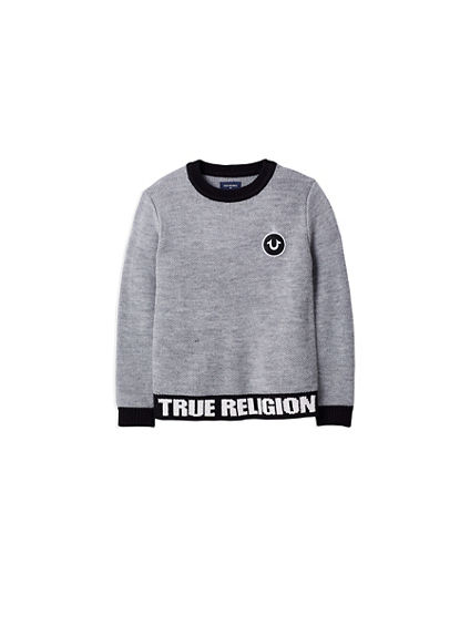 TR PULLOVER KIDS SWEATER