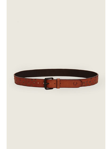 MENS BELT WITH RIVETS
