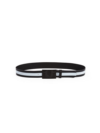 MENS STRIPED BELT