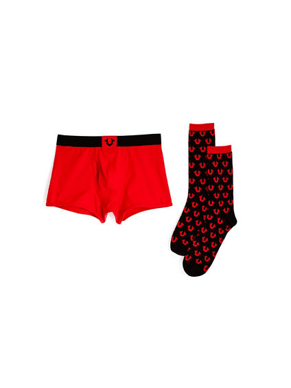 VDAY MENS UNDERWEAR AND SOCK BOX SET