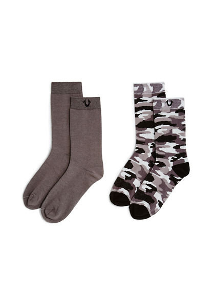 TR LOGO SOCKS PACK OF 2