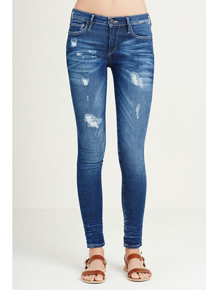 HALLE SUPER SKINNY SUPERSTRETCH WOMENS JEAN