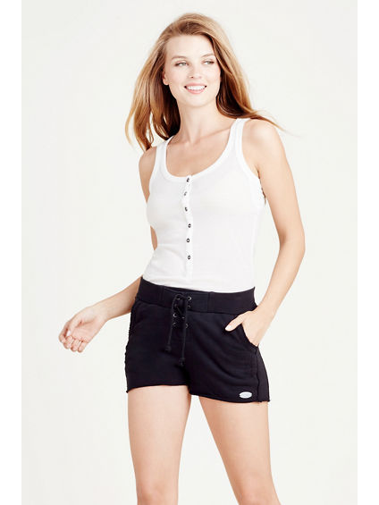 LACE UP ACTIVE WOMENS SHORT