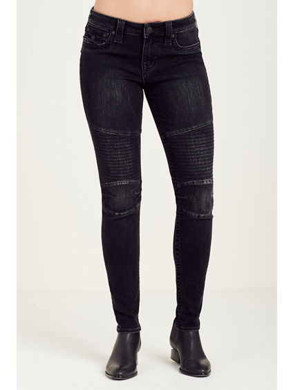 SUPER SKINNY MOTO STITCH WOMENS JEAN