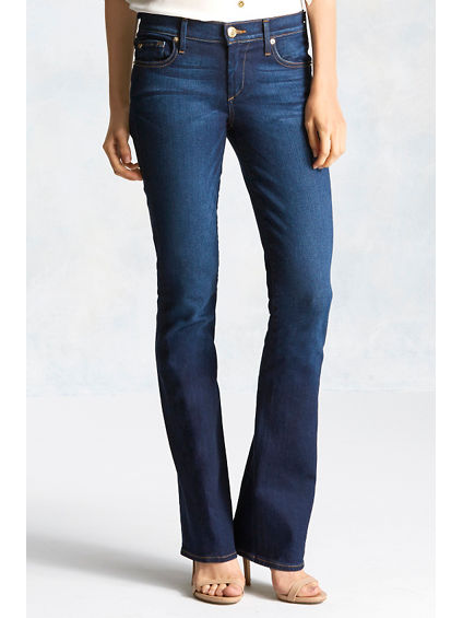 BECCA BOOTCUT TWISTED SEAM WOMENS JEAN