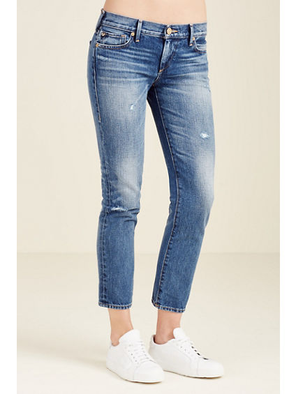 CORA STRAIGHT CROPPED WOMENS JEAN