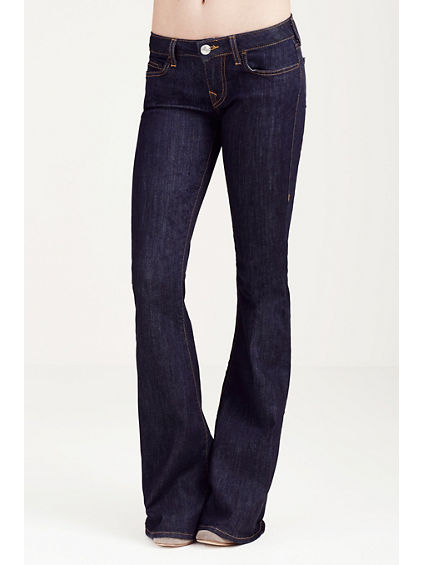 CARRIE LOW RISE FLARE WOMENS JEAN