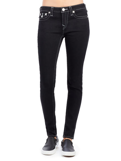 ANKLE SUPER SKINNY FLAP WOMENS JEAN