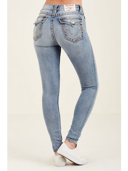 CURVY SKINNY BIG T WOMENS JEAN