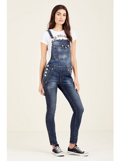 ANKLE SKINNY WOMENS OVERALL
