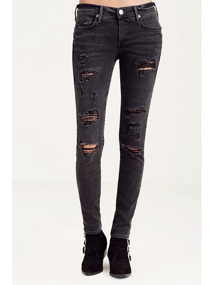 CASEY SUPER SKINNY RIPPED WOMENS JEAN